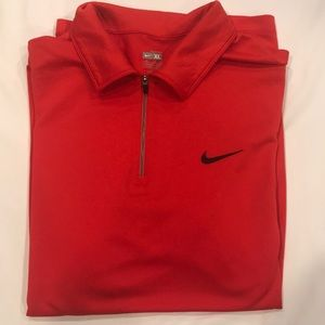 Nike 1/4 zip tennis polo shirt